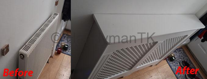 Installing a Radiator Cover