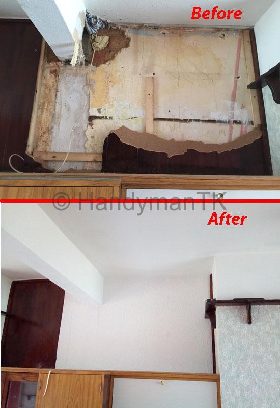 Fix damaged wall