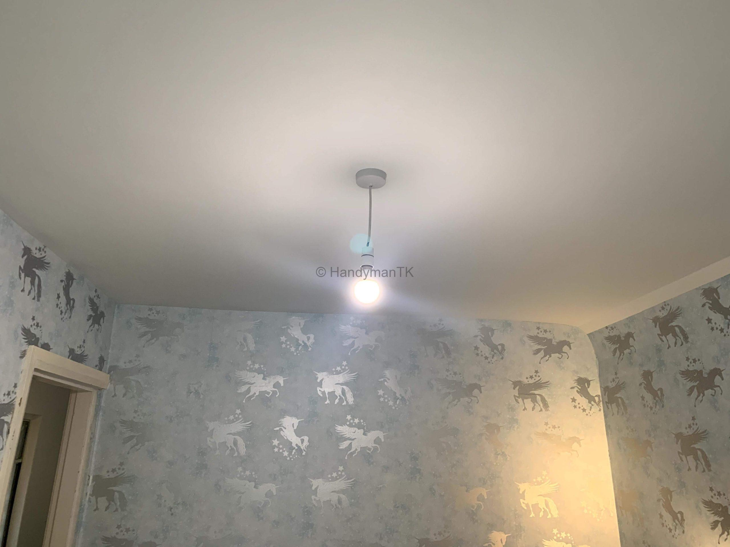 After Kids bedroom ceiling